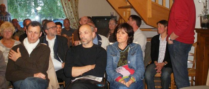 Conférence abeilles à Busnes, chez Mme & M. Hannebicq